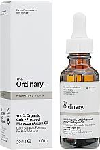 Voňavky, Parfémy, kozmetika Organický marocký arganový olej lisovaný za studena - The Ordinary 100% Organic Cold-Pressed Moroccan Argan Oil