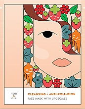 Voňavky, Parfémy, kozmetika Čistiaca pleťová maska - You & Oil Cleansing & Anti-Pollution Face Mask With Liposomes