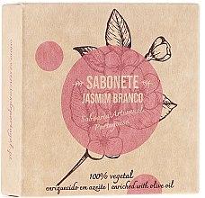 """Voňavky, Parfémy, kozmetika Prírodné mydlo """"Jasmín"""" - Essencias De Portugal Senses Jasmine Soap With Olive Oil"""