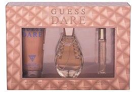 Voňavky, Parfémy, kozmetika Guess Dare - Sada (edt/100ml + edt/15ml + b/lot/200ml)