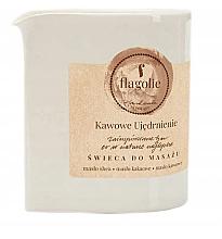 """Voňavky, Parfémy, kozmetika Masážna sviečka """"Spevňujúca káva"""" - Flagolie Coffee Firming Massage Candle"""