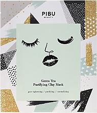 Voňavky, Parfémy, kozmetika Čistiaca hlinená maska so zeleným čajom - Pibu Beauty Green Tea Purifying Clay Mask