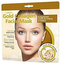 Voňavky, Parfémy, kozmetika Kolagénová maska na tvár so zlatom - GlySkinCare Gold Collagen Facial Mask