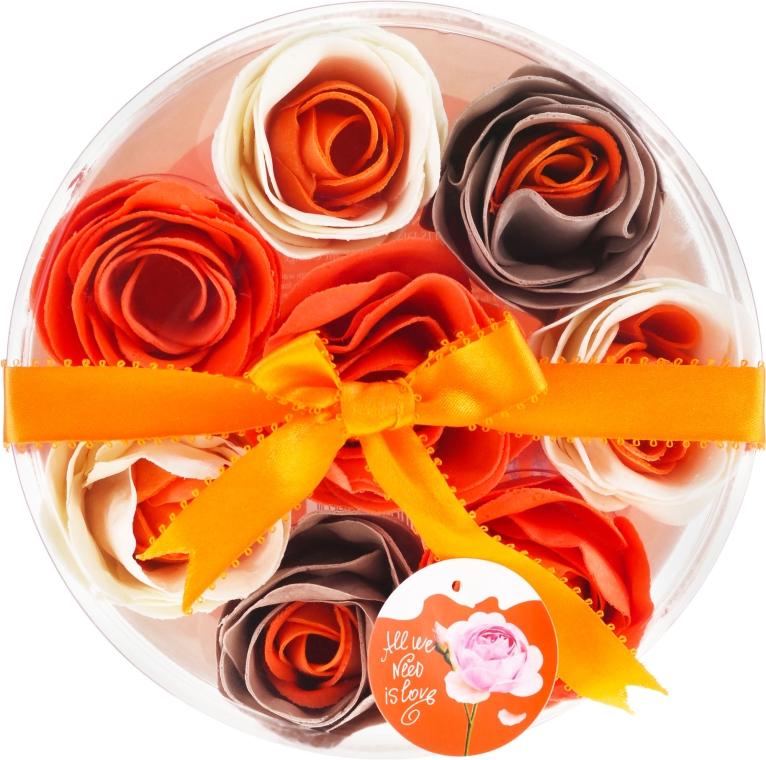 "Konfety do kúpeľa ""Orange"", 8 ks. - Spa Moments Bath Confetti Orange"