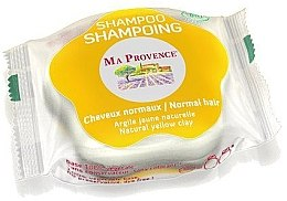 """Voňavky, Parfémy, kozmetika Tuhý biošampón na normálne vlasy """"Žltá hlina"""" - Ma Provence Shampoo"""