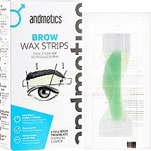 Voňavky, Parfémy, kozmetika Vosk na obočie - Andmetics Brow Wax Strips Men