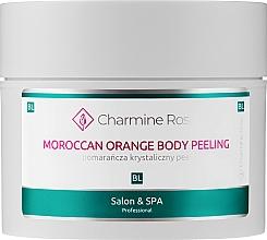 """Voňavky, Parfémy, kozmetika Peeling na telo """"Marocký pomaranč"""" - Charmine Rose Moroccan Orange Body Peeling"""
