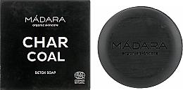 Voňavky, Parfémy, kozmetika Čistiace mydlo na tvár s dreveným uhlím - Madara Cosmetics Charcoal Detox Soap