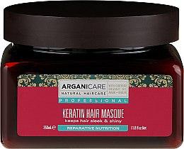 Voňavky, Parfémy, kozmetika Keratínová maska pre suché vlasy - Arganicare Keratin Hair Mask