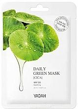 """Voňavky, Parfémy, kozmetika Maska na každodenné použitie """"Centella asiatica"""" - Yadah Daily Green Mask Cica"""