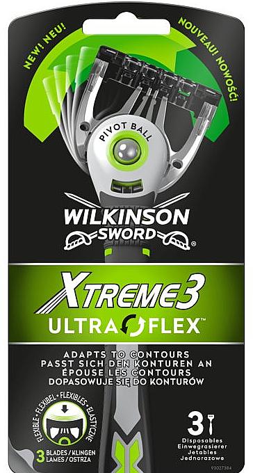 Sada jednorazových holiacich strojčekov - Wilkinson Sword Xtreme 3 UltraFlex — Obrázky N1