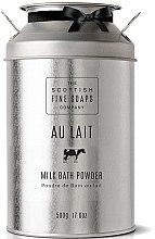 Voňavky, Parfémy, kozmetika Mliečny prášok do kúpeľa - Scottish Fine Soaps Au Lait Milk Bath Powder