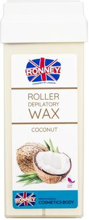 "Vosk na depiláciu v kazete ""Coconut"" - Ronney Wax Cartridge Coconut"