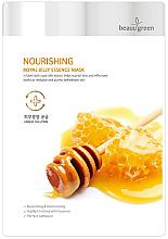 Voňavky, Parfémy, kozmetika Výživná maska na tvár s materskou kašičkou - BeauuGreen Nourishing Royal Jelly Essence Mask
