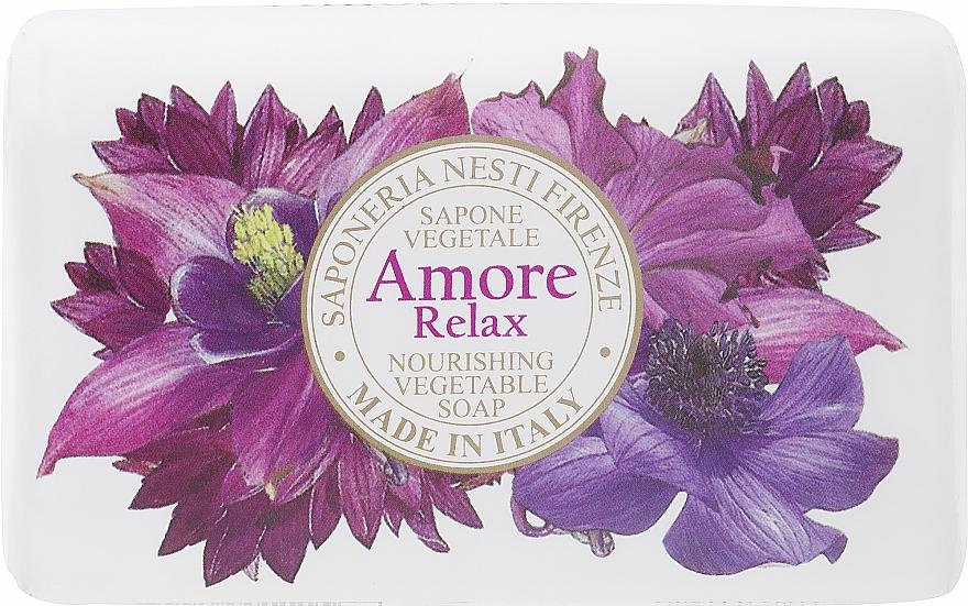 Mydlo s vôňou levandule, citrusov a jantáru - Nesti Dante Amore Relax Nourishing Vegetable Soap