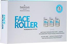 Voňavky, Parfémy, kozmetika Anti-age koncentrát - Farmona Professional Face Roller Active Anti-Ageing Concentrate