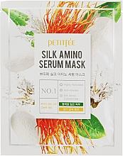 Voňavky, Parfémy, kozmetika Maska na tvár s hodvábnymi proteínmi - Petitfee&Koelf Silk Amino Serum Mask
