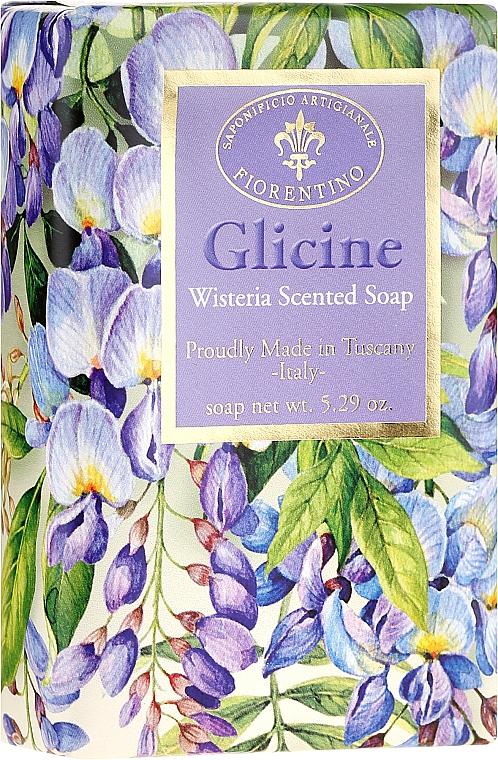 """Prírodné mydlo """"Vistéria"""" - Saponificio Artigianale Fiorentino Masaccio Wisteria Soap"""