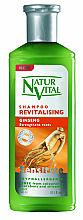 Voňavky, Parfémy, kozmetika Obnovujúci šampón na vlasy, ženšen - Natur Vital Revitalizing Sensitive Ginseng Shampoo