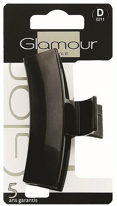 Štipec do vlasov, 0211, čierny - Glamour — Obrázky N1