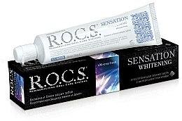 """Voňavky, Parfémy, kozmetika Zubná pasta """"Senzačné bielenie"""" - R.O.C.S.."""