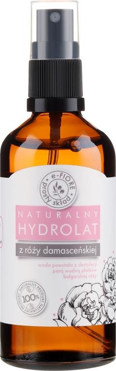 Hydrolat z damaškových ružových lístkov - E-Fiore Hydrolat
