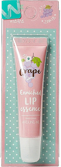 Esencia na pery s hroznovou vôňou - Welcos Around Me Enriched Lip Essence Grape