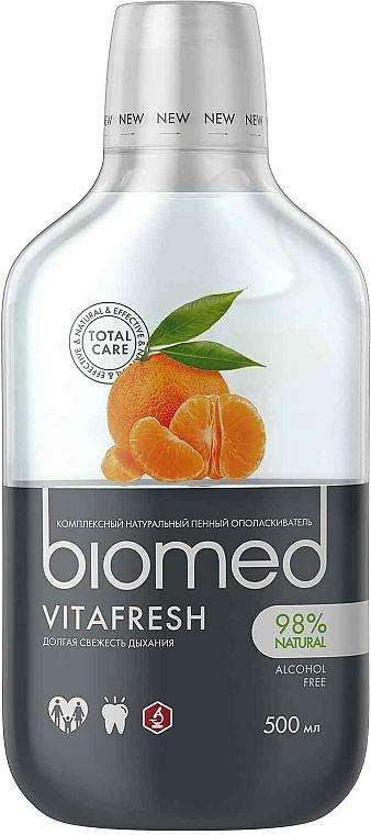 "Antibakteriálna ústna voda pre svieži dych ""Citrus"" - Biomed Citrus Fresh Mouthwash"