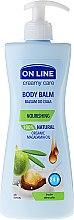 Voňavky, Parfémy, kozmetika Balzam na telo s makadamovým olejom - On Line Cream Care Body Balm