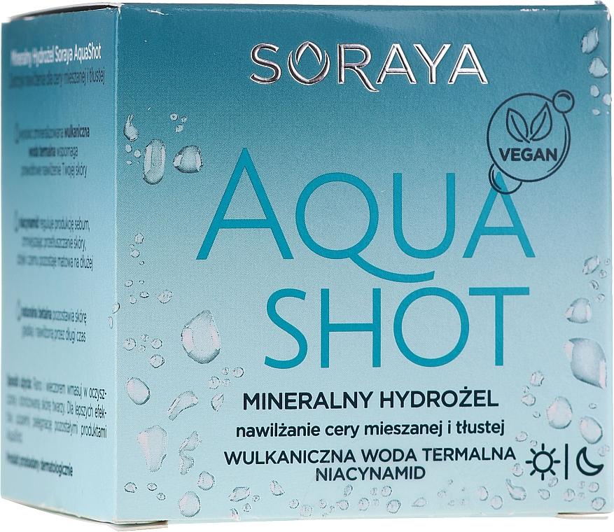 Minerálny hydrogél na tvár - Soraya Aquashot