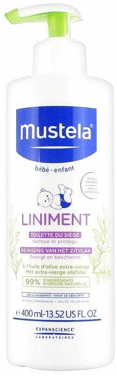 Čistiace mlieko - Mustela Bebe Liniment — Obrázky N3