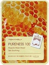 Voňavky, Parfémy, kozmetika Látková maska s propolisovým extraktom - Tony Moly Pureness 100 Propolis Mask Sheet