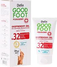 Voňavky, Parfémy, kozmetika Gél na odstránenie mozoľov - Delia Cosmetics Good Foot Podology Nr 3.2