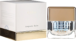 Voňavky, Parfémy, kozmetika Hydratačný krém na tvár s extraktom z bielej hľuzovky - D'Alba Ampoule Balm White Truffle Eco Moisturizing Cream