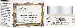 Voňavky, Parfémy, kozmetika Krém na tvár proti starnutiu - Sostar Anti-ageing Face Cream Enriched With Donkey Milk