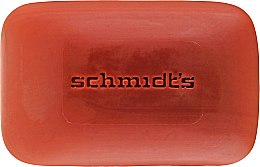 Mydlo - Schmidt's Naturals Bar Soap Rose Vanilla — Obrázky N2
