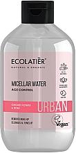 """Voňavky, Parfémy, kozmetika Odličovacia micelárna voda """"Kvet orchidey a ruža"""" - Ecolatier Urban Micellar Water Age Control"""