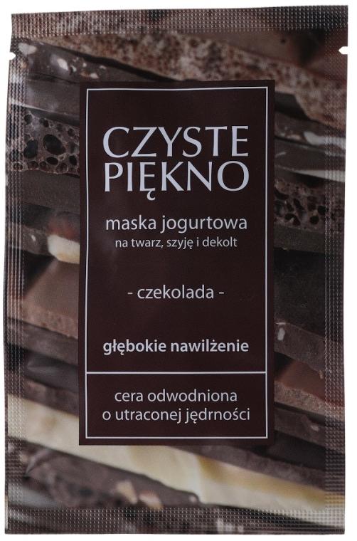 """Maska na tvár """"Čokoláda"""" - Czyste Piekno Chocolate Face Mask"""