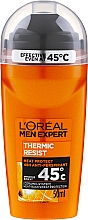 Voňavky, Parfémy, kozmetika Guľôčkový deodorant - L'Oreal Paris Men Expert Thermic Resist Clean Cool Deo Roll-On