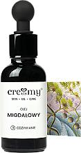 Voňavky, Parfémy, kozmetika Nerafinovaný mandľový olej - Creamy