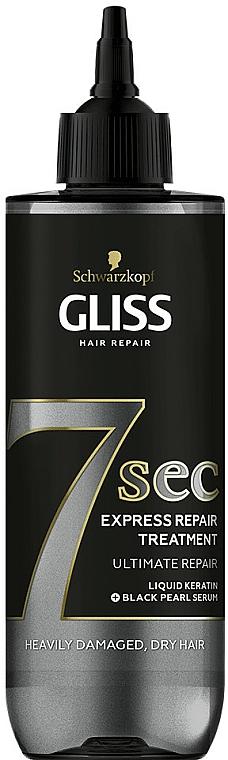 Maska na vlasy - Schwarzkopf Gliss Kur 7 Sec Express Repair Treatment Ultimate Repair