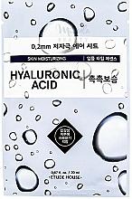 Voňavky, Parfémy, kozmetika Ultra tenká pleťová maska s kyselinou hyalurónovou - Etude House Therapy Air Mask Hyaluronic Acid