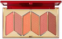 Voňavky, Parfémy, kozmetika Paletka líceniek - Pur X Barbie Malibu Blush Signature 6-Piece Blush Palette