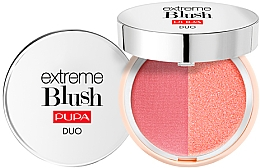 Voňavky, Parfémy, kozmetika Kompaktná dvojitá lícenka - Pupa Extreme Blush Duo