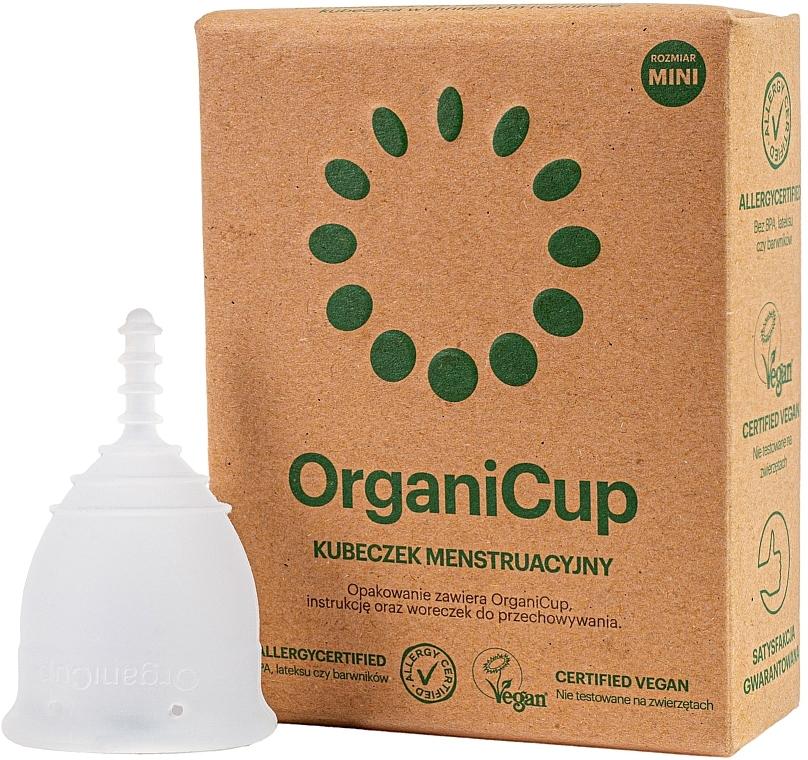 Menštruačný pohárik, veľkosť mini - OrganiCup