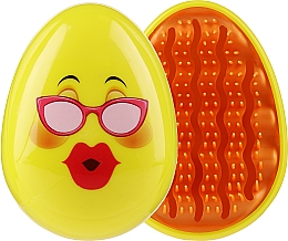 Voňavky, Parfémy, kozmetika Kefa na vlasy 3002W, emoji s okuliarmi - IDC Design Smile Brush