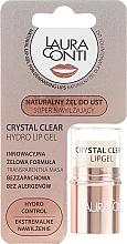 Voňavky, Parfémy, kozmetika Hydratačný gél na pery - Laura Conti Crystal Clear Hydro Lip Gel