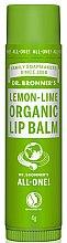 """Voňavky, Parfémy, kozmetika Balzam na pery """"Lemon & Lime"""" - Dr. Bronner's Lemon & Lime Lip Balm"""