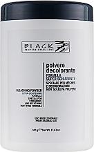 Voňavky, Parfémy, kozmetika Prášok na zosvetlenie vlasov, modrý (tuba) - Black Professional Line Bleaching Powder Blue