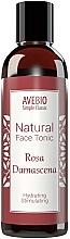 Voňavky, Parfémy, kozmetika Prírodné tonikum na tvár - Avebio Natural Face Tonic Rosa Damascena